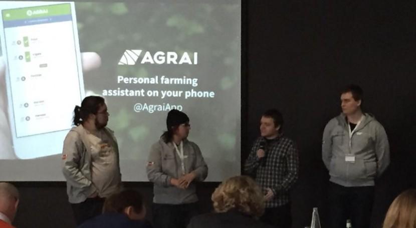 Dos aplicaciones móviles que usan datos satélites mejorar agricultura ganan concurso ESA App Camp