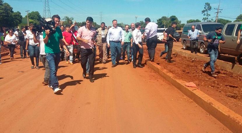 Gobierno Paraguay proyecta inversiones infraestructuras agua Alto Paraná