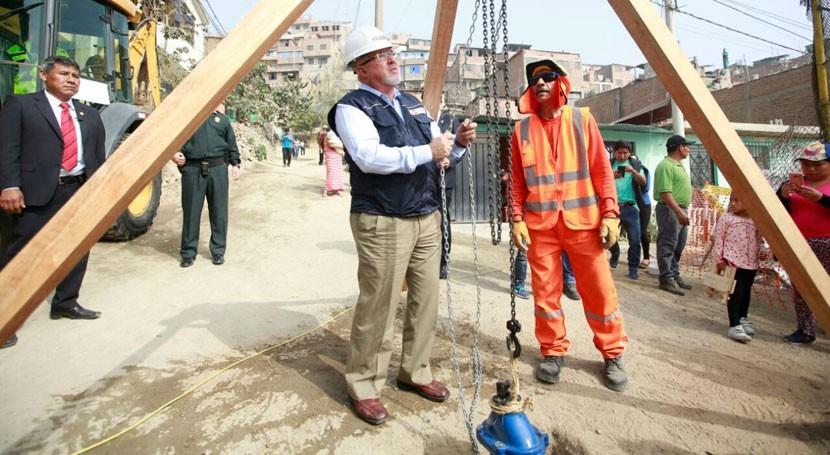 Más 77.000 pobladores Bayóvar tendrán agua potable año