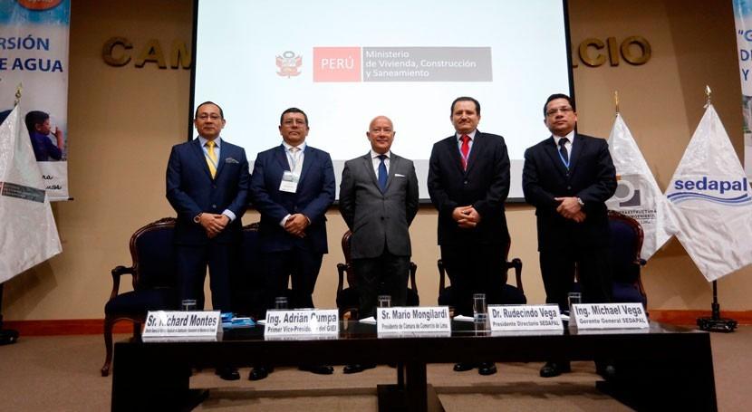 Ampliar cobertura agua Lima y Callao costará 6.700 millones dólares 2021