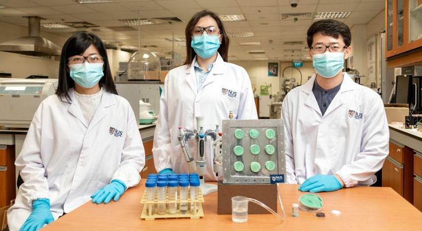 Crean aerogel 'inteligente' que extrae agua aire energía externa