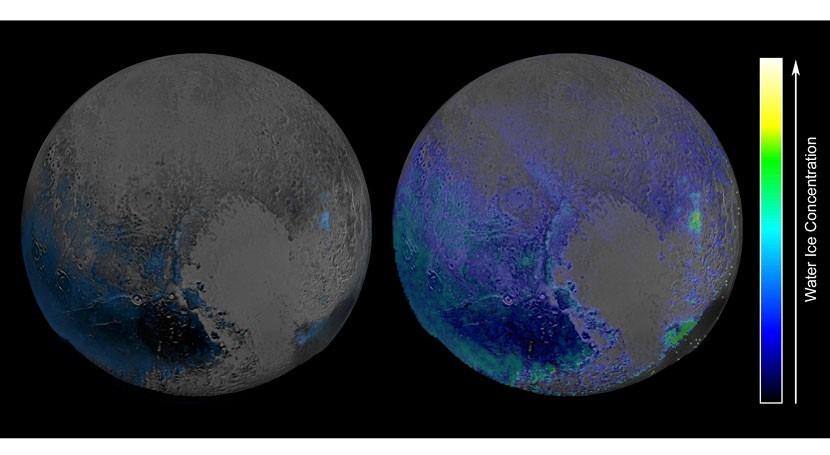 Descubren hielo agua superficie Plutón