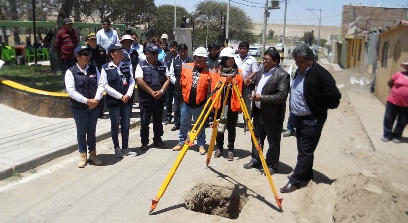 Más 6.000 habitantes distrito Inclán tendrán servicios agua y alcantarillado