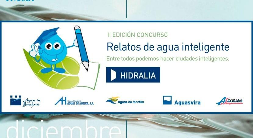 Hidralia convoca II Certamen Relatos Agua Inteligente Secundaria