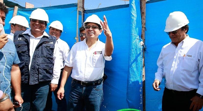 agua será legado actual Gobierno Perú