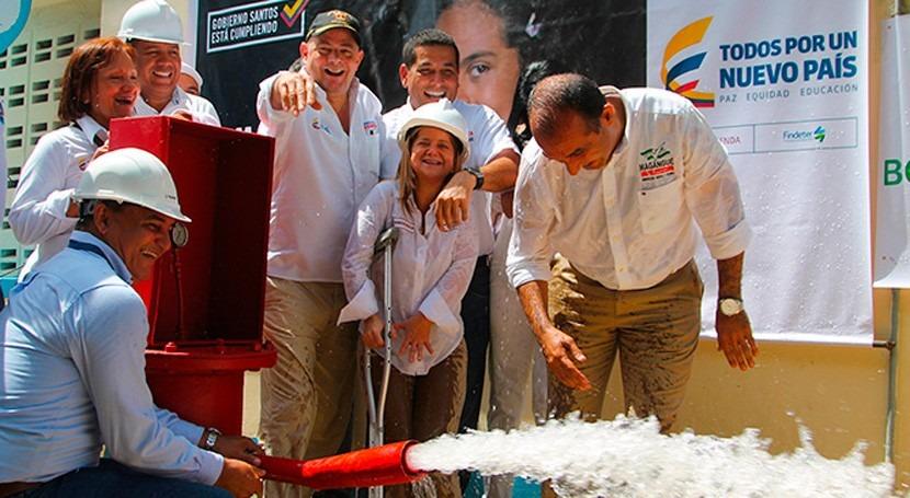 municipio colombiano Magangué tendrá más agua potable y calidad