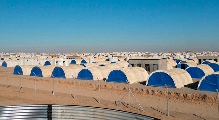 agua potable llega campo refugiados Mosul gracias Fundación Veolia