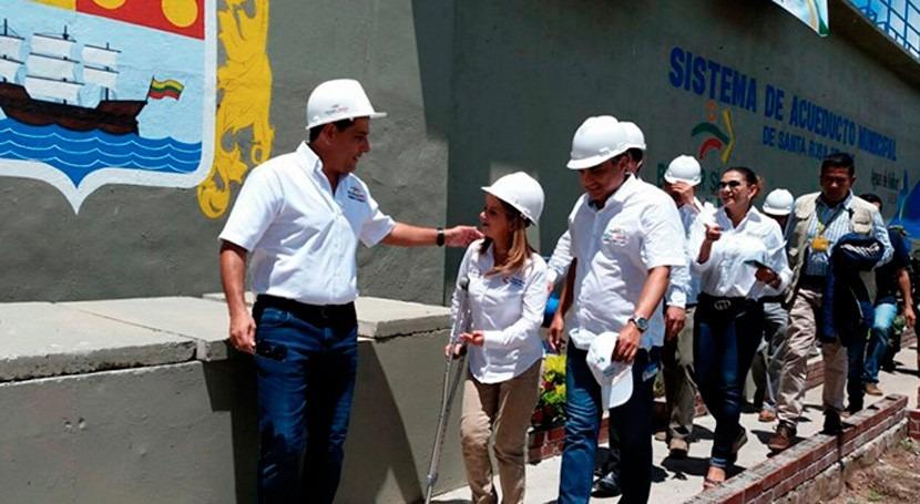 Santa Rosa Sur Colombia alcanzará 100% cobertura abastecimiento agua potable