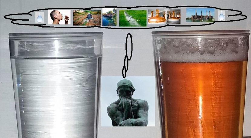 Agua o cerveza, cuestión prioridades