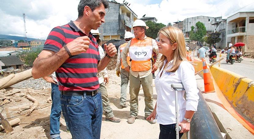 Gobierno Colombia trabaja toda marcha proyectos agua y vivienda Mocoa