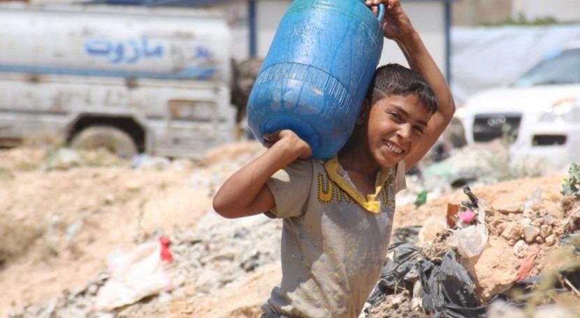Se restaura suministro agua potable Alepo 48 días después