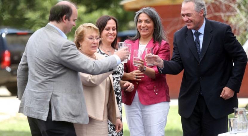 Presidenta Bachelet y ministra Villegas lanzaron el proyecto