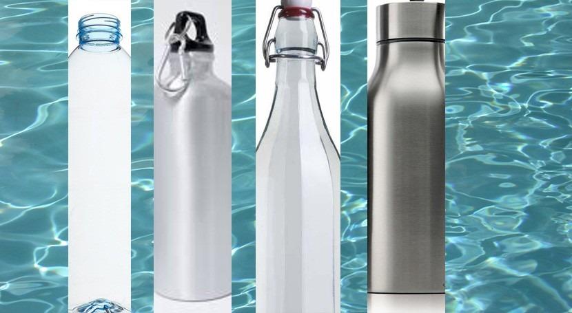 plástico, cristal, aluminio y acero: continente también es importante