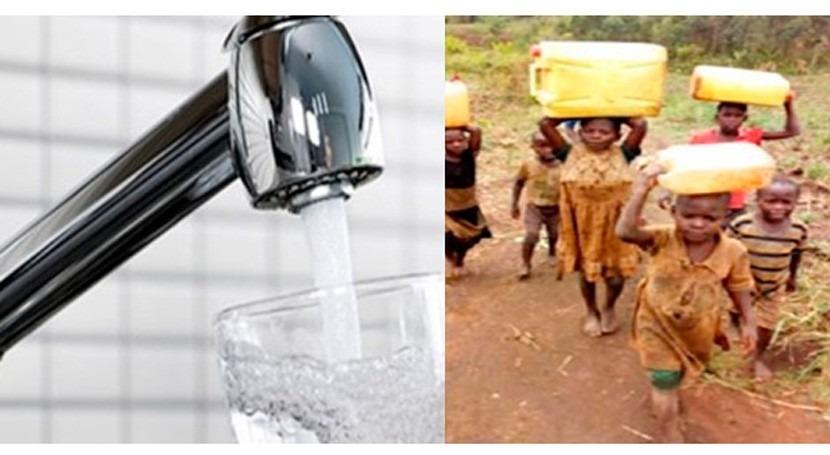 ¿Tienes agua corriente?