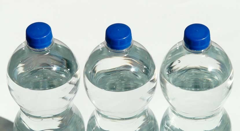 contaminación, causa posible retirada agua embotellada Eroski y Condis