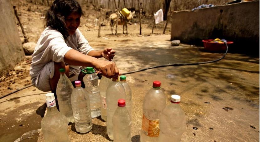 El impacto de la crisis del agua en la prestación del servicio de agua  potable