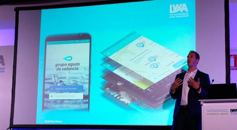 Aguas Valencia presenta estrategia gestión contadores inteligentes IWA