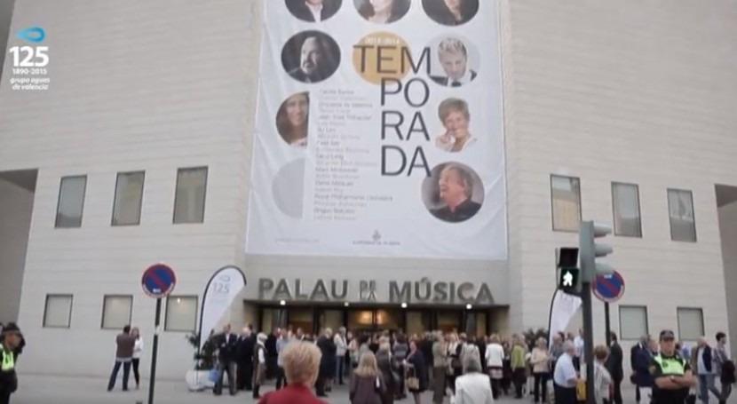 Así se hizo Beethoven al Riu, más 1.700 valencianos y montaje instalado 24 horas