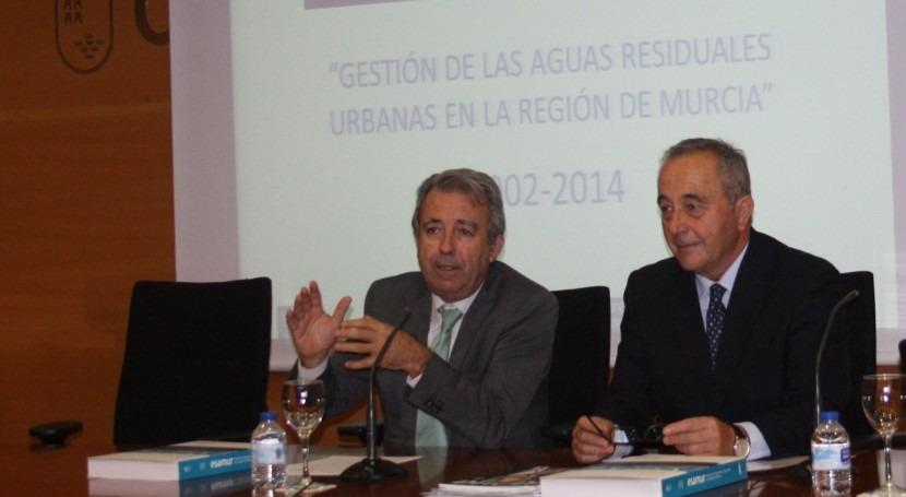 Antonio Cerdá, consejero, y Manuel Albacete, gerente de ESAMUR