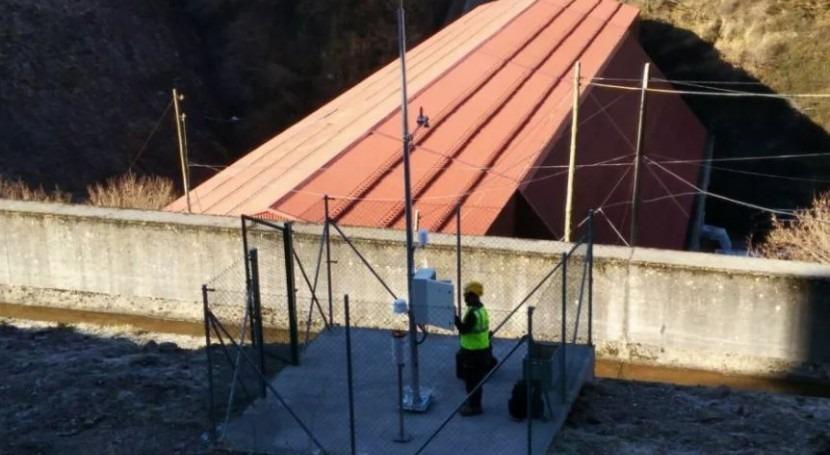 Arantec instala estación nivometeorológica Smarty Meteo central Aguayo Viesgo