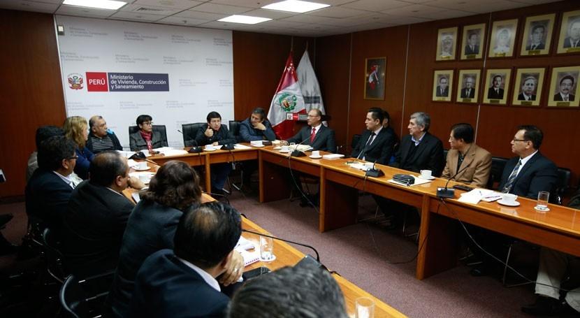 Gobierno Perú reafirma compromiso mejorar servicio agua y saneamiento
