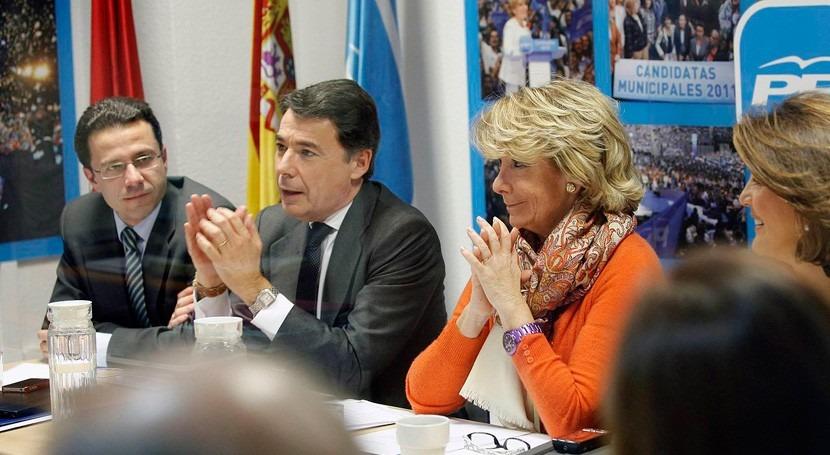 """Esperanza Aguirre Operación Lezo: """"Lo Ignacio González sería muy lamentable"""""""
