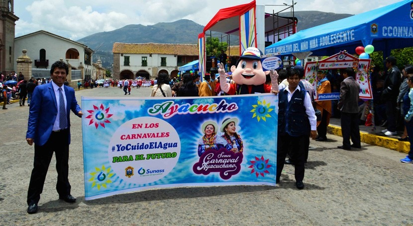 Gobierno peruano exhorta ahorro agua durante Carnaval Ayacuchano