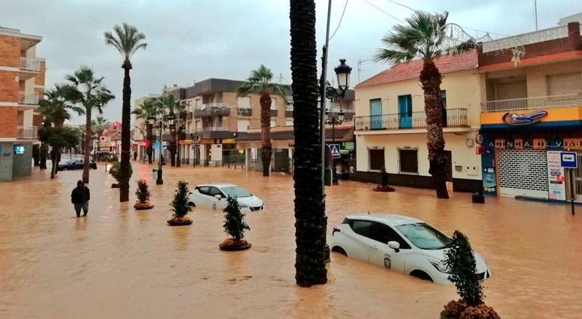 MITECO destina 3 millones euros adaptación inundaciones Campo Cartagena