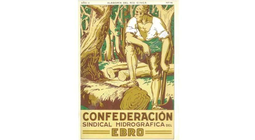 """"""" Alegorías Ebro"""" reúne obras Díaz Domínguez revistas CHE 1927-1931"""