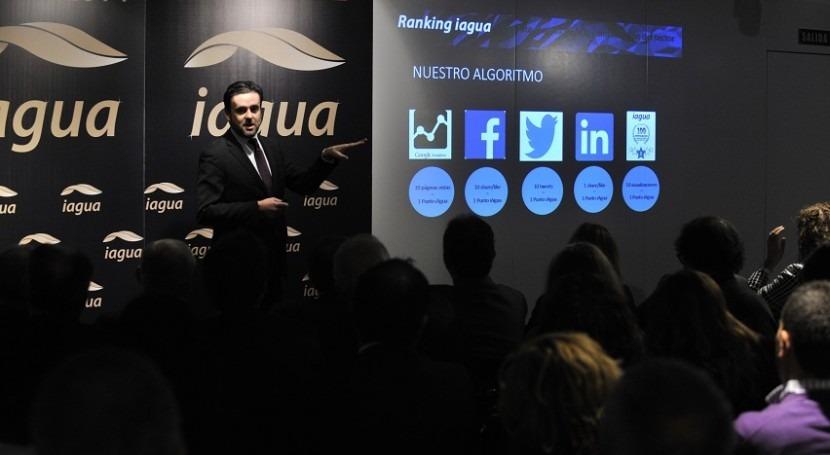 Alejandro Maceira, director de iAgua, explica el algoritmo en el que se basa el Ranking iAgua