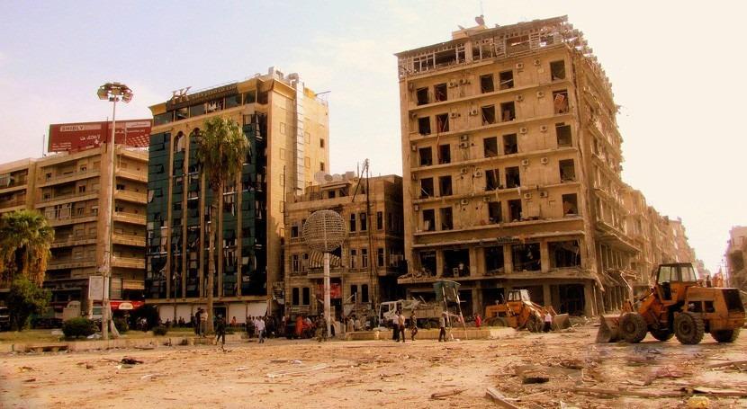 escasez hídrica llega Siria: 1,5 millones personas se quedan agua oeste Alepo