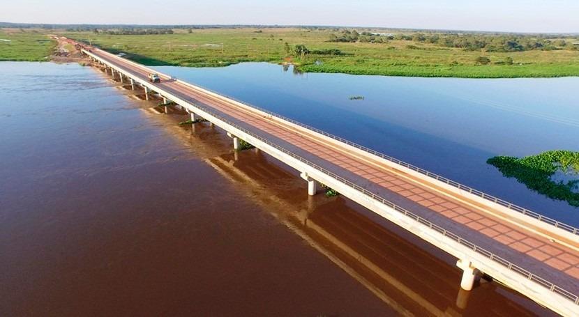 Paraguay evitará cortes crecidas construyendo otro aliviadero río Jejuí