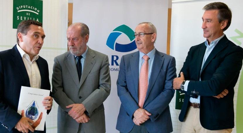 Se congelan tarifas agua Aljarafe 2017 cuarto año consecutivo