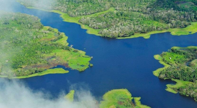Río Amazonas (Wikipedia/CC).