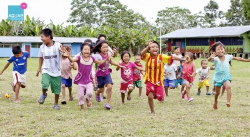 Proyecto Unicef - Aquae Fundación Amazonía peruana: año compromiso
