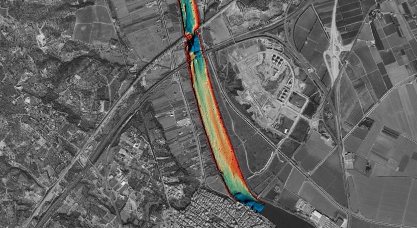 Iniciados trabajos cartográficos estudiar tránsito sedimentario Delta Ebro