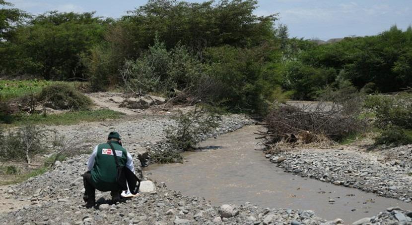 Perú supervisa canales sector Cabildo posible afectación cauce ríos