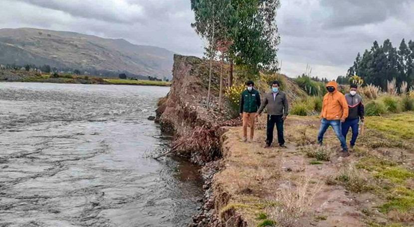 Perú identifica puntos críticos cauces principales ríos Cuenca Mantaro