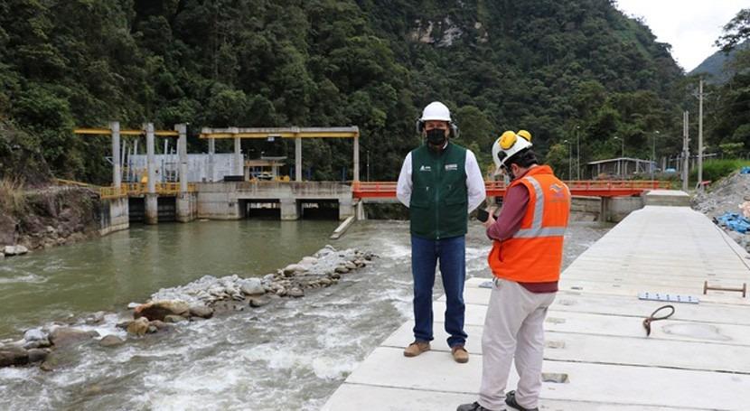 ANA Perú inspecciona autorización uso agua proyecto hidroenergético Chanchamayo