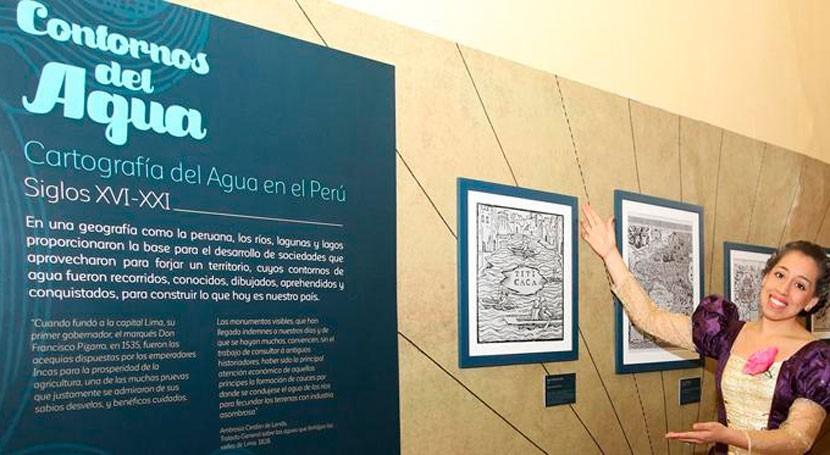 Perú exhibe primera vez mapa hidrográfico 1919
