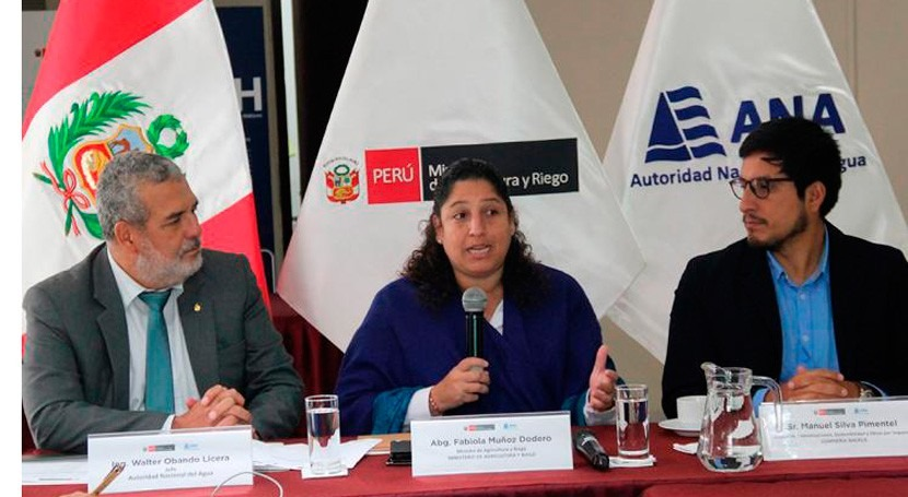 Autoridad Nacional Agua Perú lanza IV Premio Nacional Cultura Agua 2019