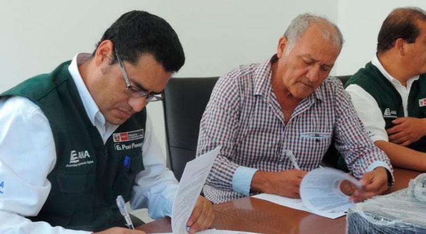 Gobierno Perú firma acuerdo delimitar fajas marginales río Tumilaca