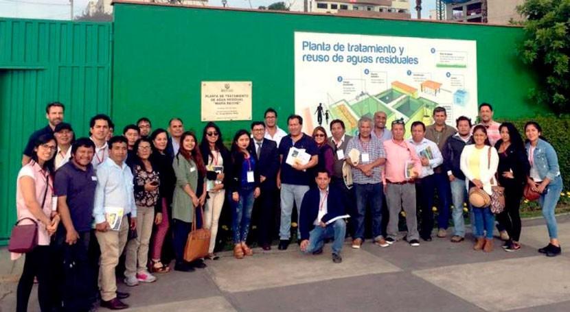 ANA y Cooperación alemana promueven reúso municipal aguas residuales tratadas