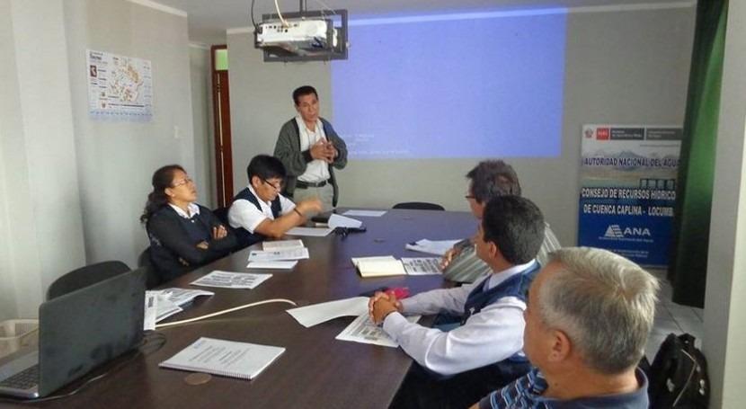 Autoridad Nacional Agua conforma grupo especializado trabajo multisectorial