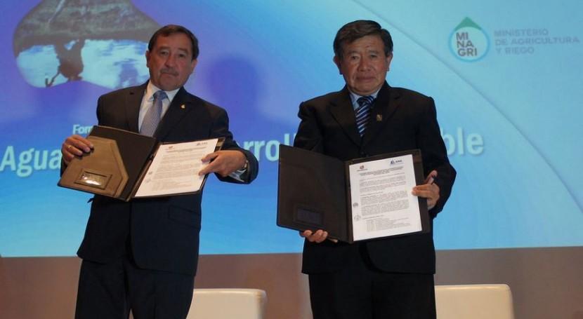 Acuerdo ANA y Gobierno Lima gestión recursos hídricos cuenca capitalina