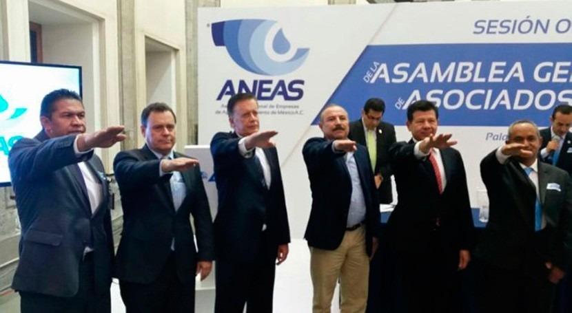Renueva ANEAS Comité Ejecutivo Asamblea General 2016