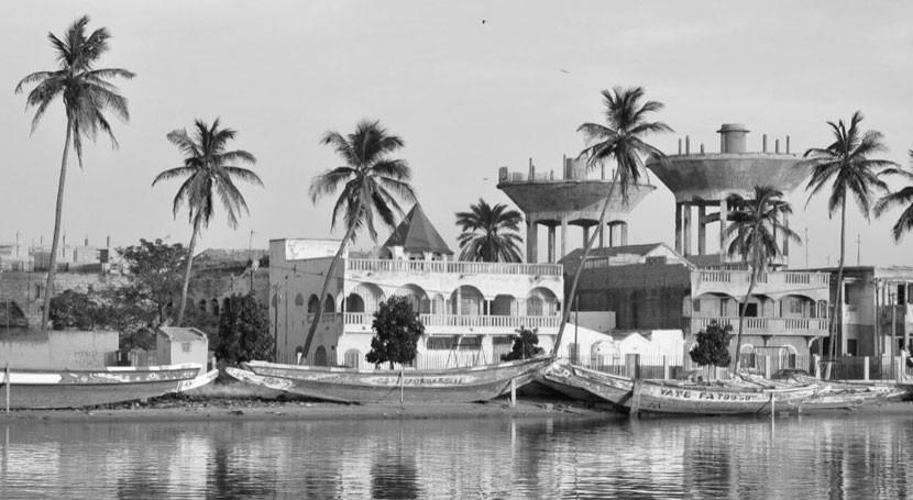 territorio anfibio Saint-Louis du Sénégal