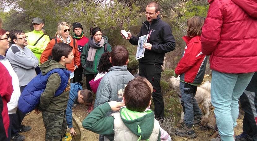 Más centenar voluntarios adecuan puntos agua anfibios Sierra Pila