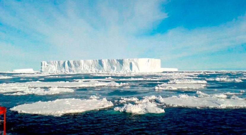 plataforma única mundo monitorear temperatura Antártida