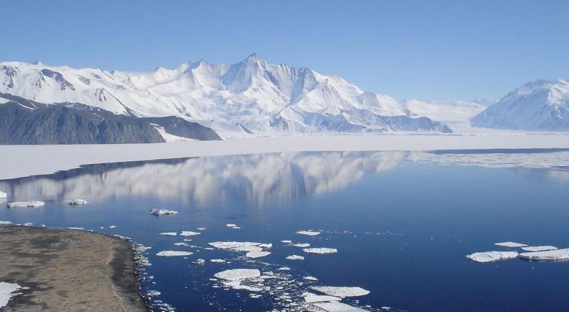 Antártida Occidental podría quedarse hielo si Cuenca Amundsen se desestabiliza